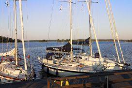 Gästhamnen i Axmar bruk - foto Aja Axlund