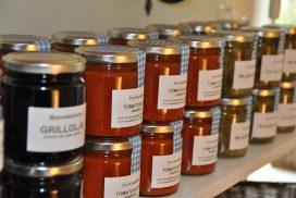 Sylt och marmelad hos Axmar Bruksbod