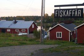 Fiskaffär i Gåsholma fiskeläge - foto Aja Axlund
