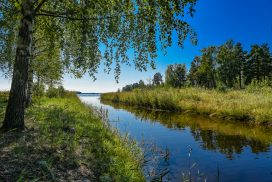Kanalen vid Finnharen - foto Jan Eriksson